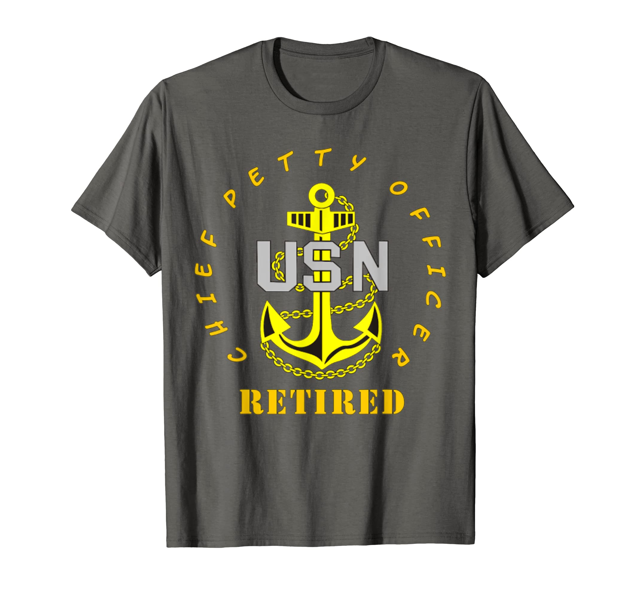 15d131d455b Amazon.com  US Navy - CPO Chief Petty Officer Retired Tshirt  Clothing