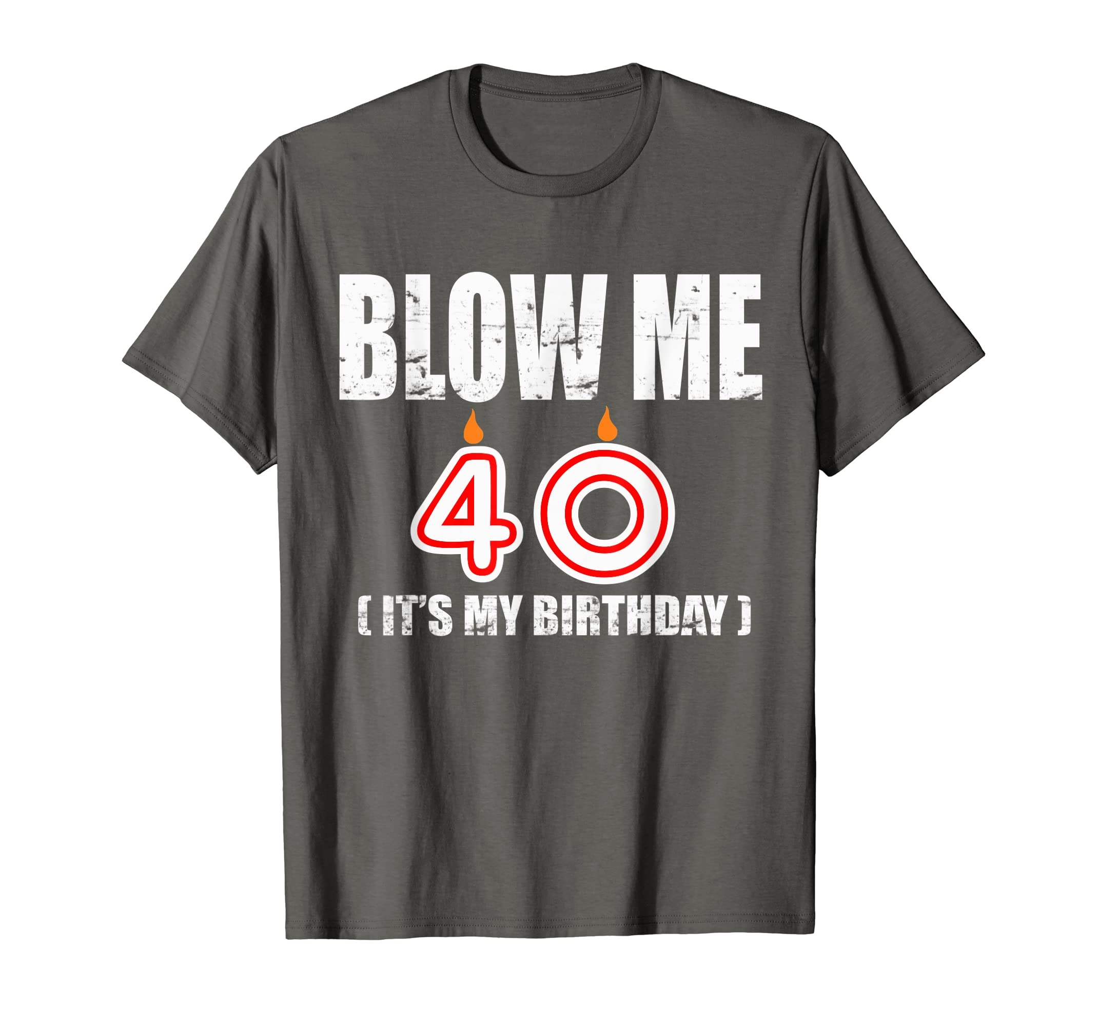 Amazon Happy 40th Birthday T Shirt Fourty Years OLD Gift Clothing