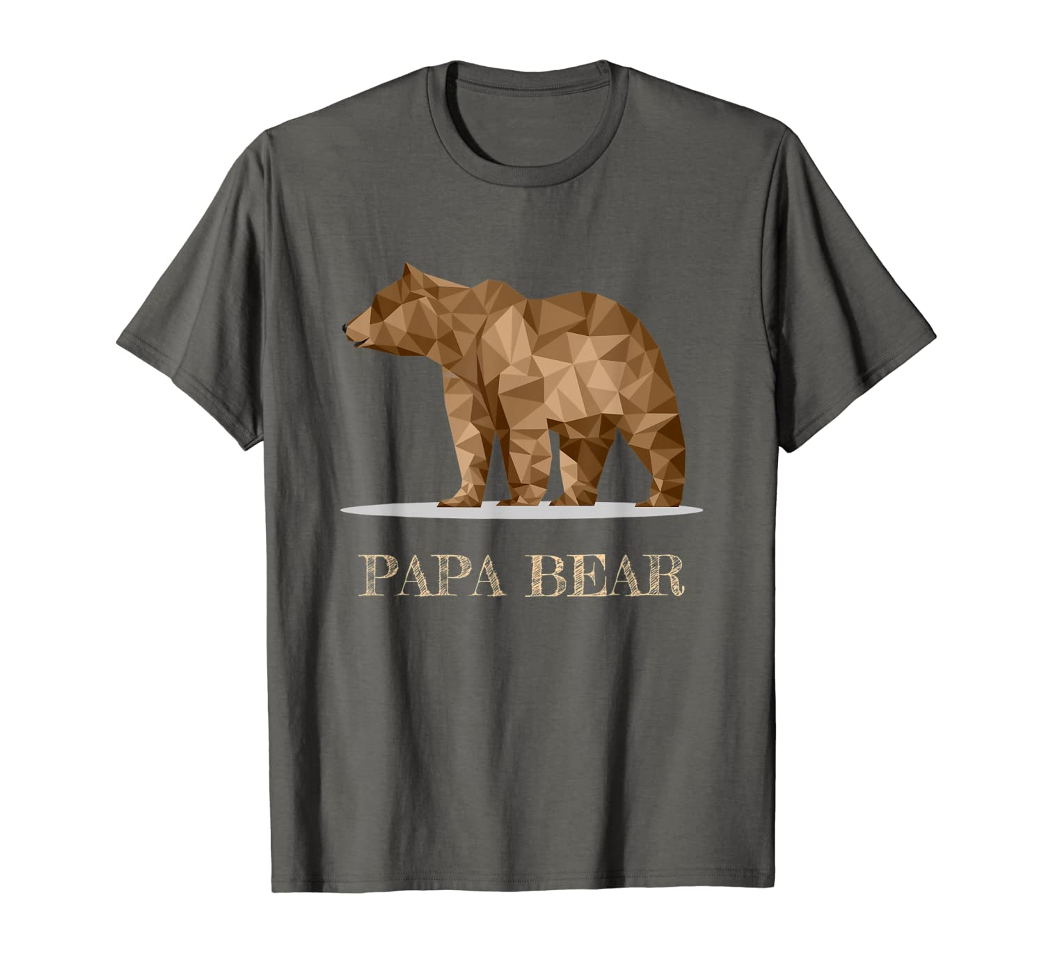 Papa Bear Best Dad TShirt Fathers Day Father Pop Gift