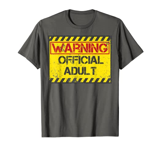 Amazon Warning Official Adult Shirt