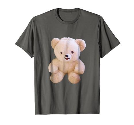Amazon Com Cute Teddy Bear Graphic T Shirt Adorable Stuffed Animal