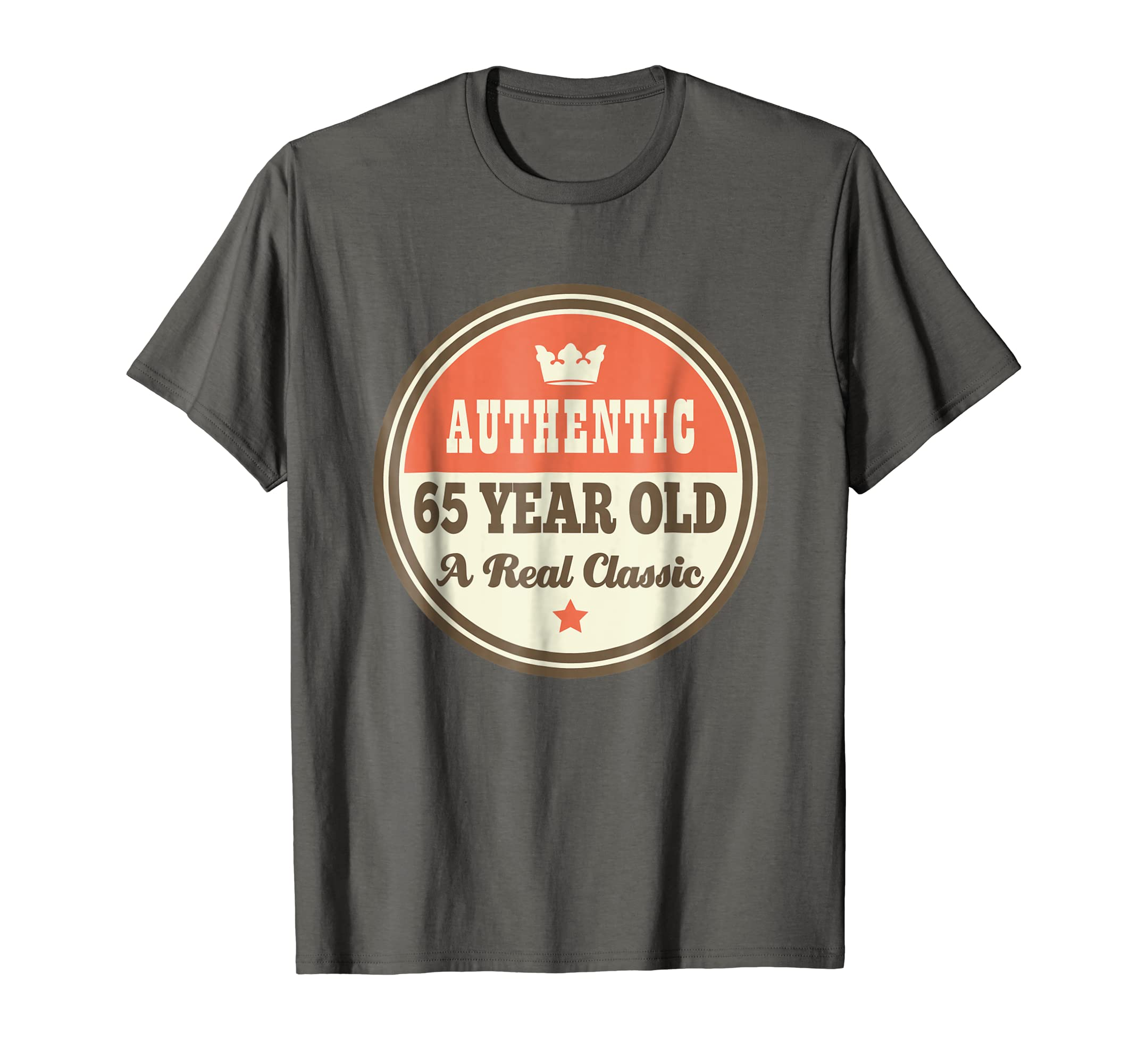 Amazon Funny 65th Birthday Tee 65 Year Old Vintage T Shirt Clothing