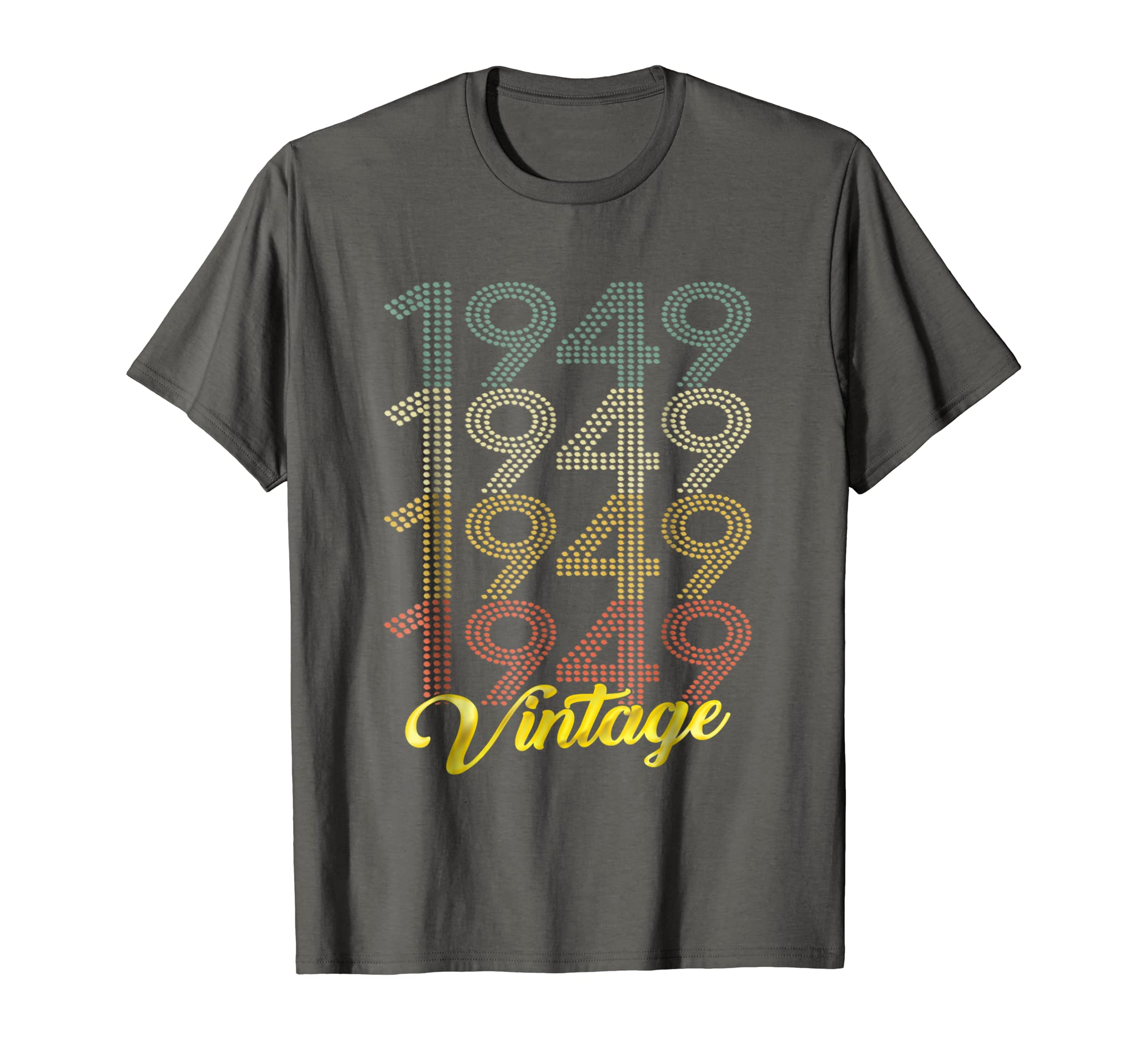 Amazon Retro Vintage 1949 T Shirt 70th Birthday Gifts 70 Years Old Clothing