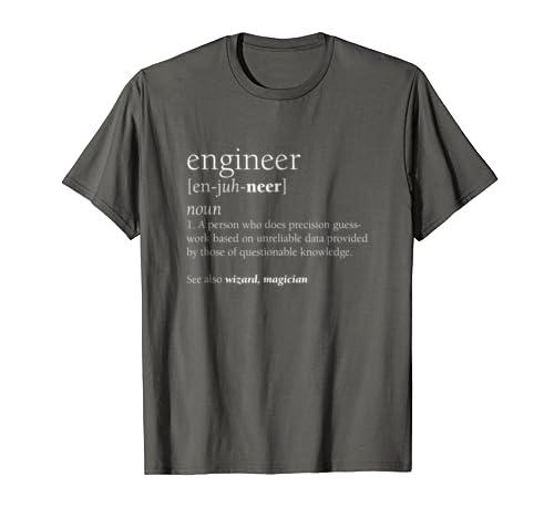 d037fb4f039 Amazon.com  Engineer Definition T Shirt