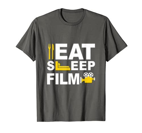 Director Shirt Eat Sleep Film Repeat Actor Director Gifts