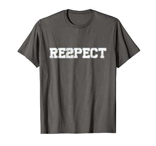 bbb7714ef020 Amazon.com  Re2pect T-Shirt Respect Derek Tee Shirt  Clothing