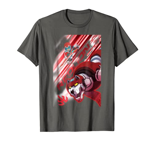 d91529c36 Amazon.com: Voltron Legendary Defender Red Lion Keith T-Shirt: Clothing