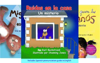 Spanish picture books with pronunciation guide (6 Book Series)