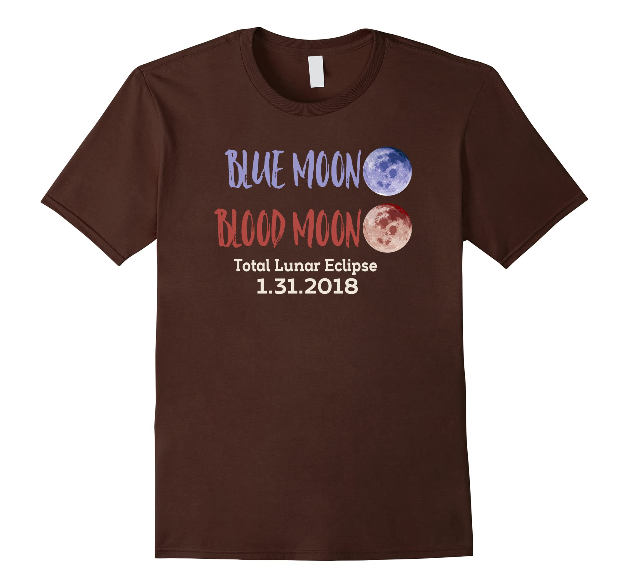 Lunar 2018 Eclipse T Full Shirt MoonBlood Blue Rt Moon hCBQrtsdx