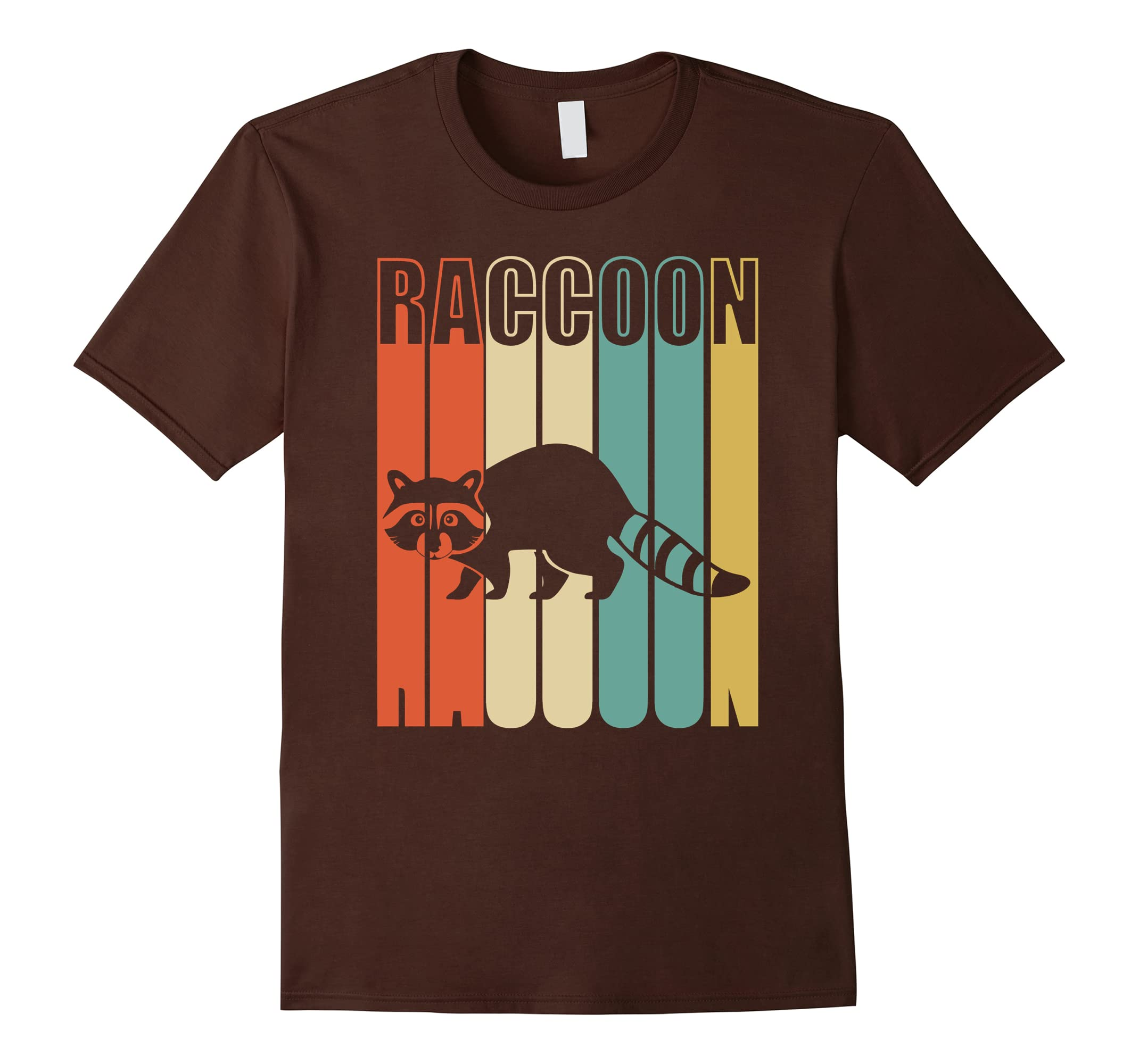 Raccoon Shirt Funny Vintage Silhouette-Tovacu