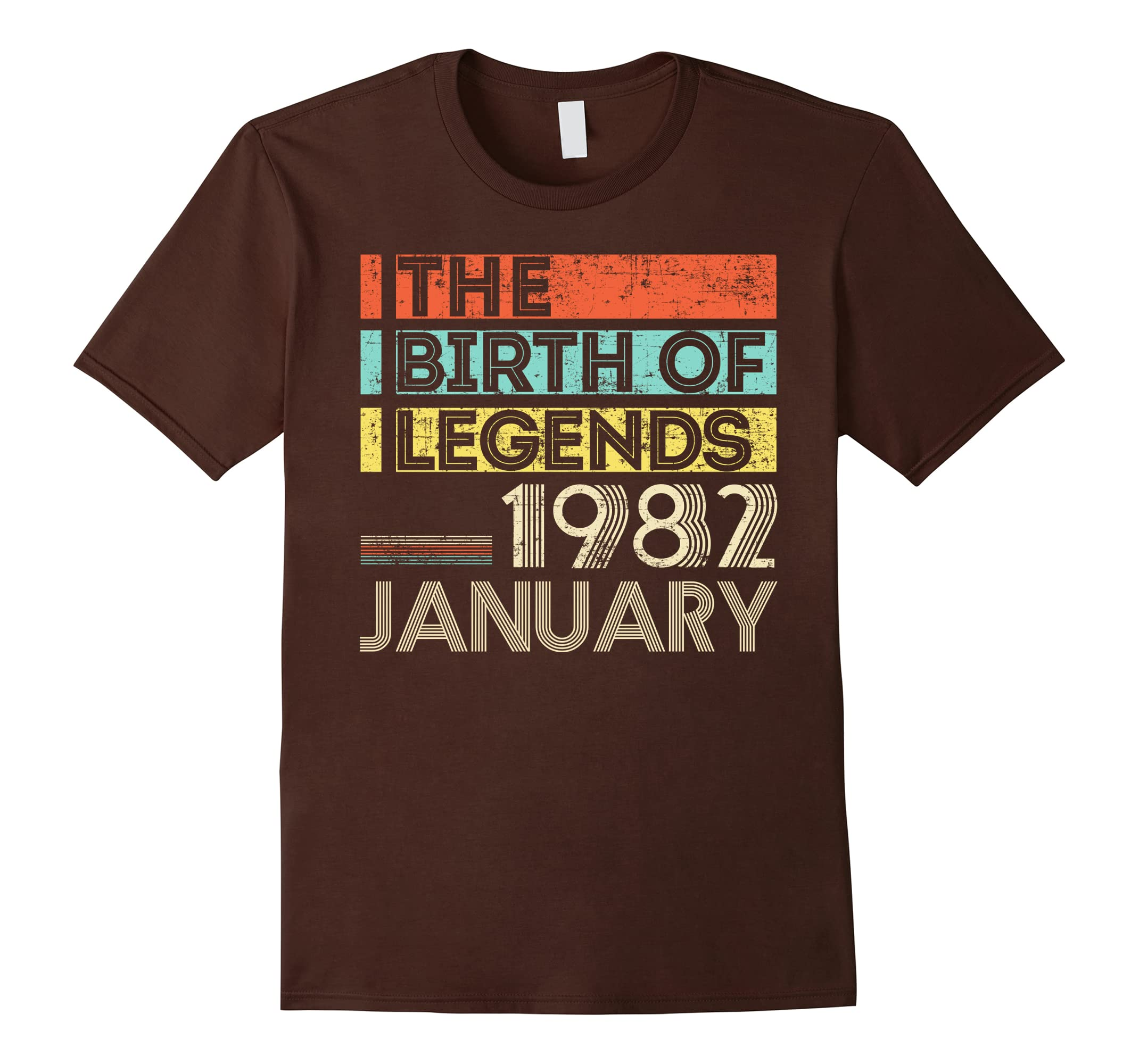 1982 JANUARY The Birth Of Legends 36 Yrs Years Old Awesome-RT