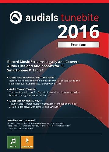 Audials Tunebite 2016 Premium: Low-price Recorder for Recording Music Streams with Audio Format Converter [Download] Louisiana