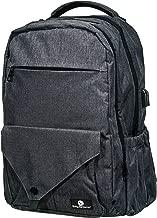 Baby Benjamin Diaper Bag, XL Benji Organizer Backpack with Changing Pad, Gray