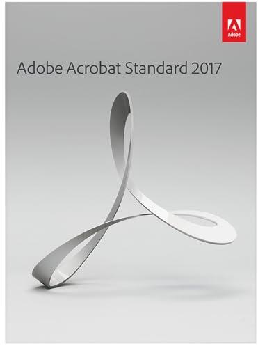 Adobe Acrobat Standard 2017 [Download] (Old Version)