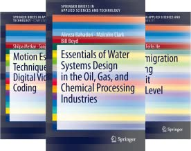 SpringerBriefs in Applied Sciences and Technology (51-100) (50 Book Series)