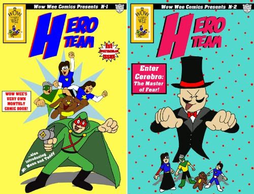 Wow Wee Comics Presents (2 Book Series)