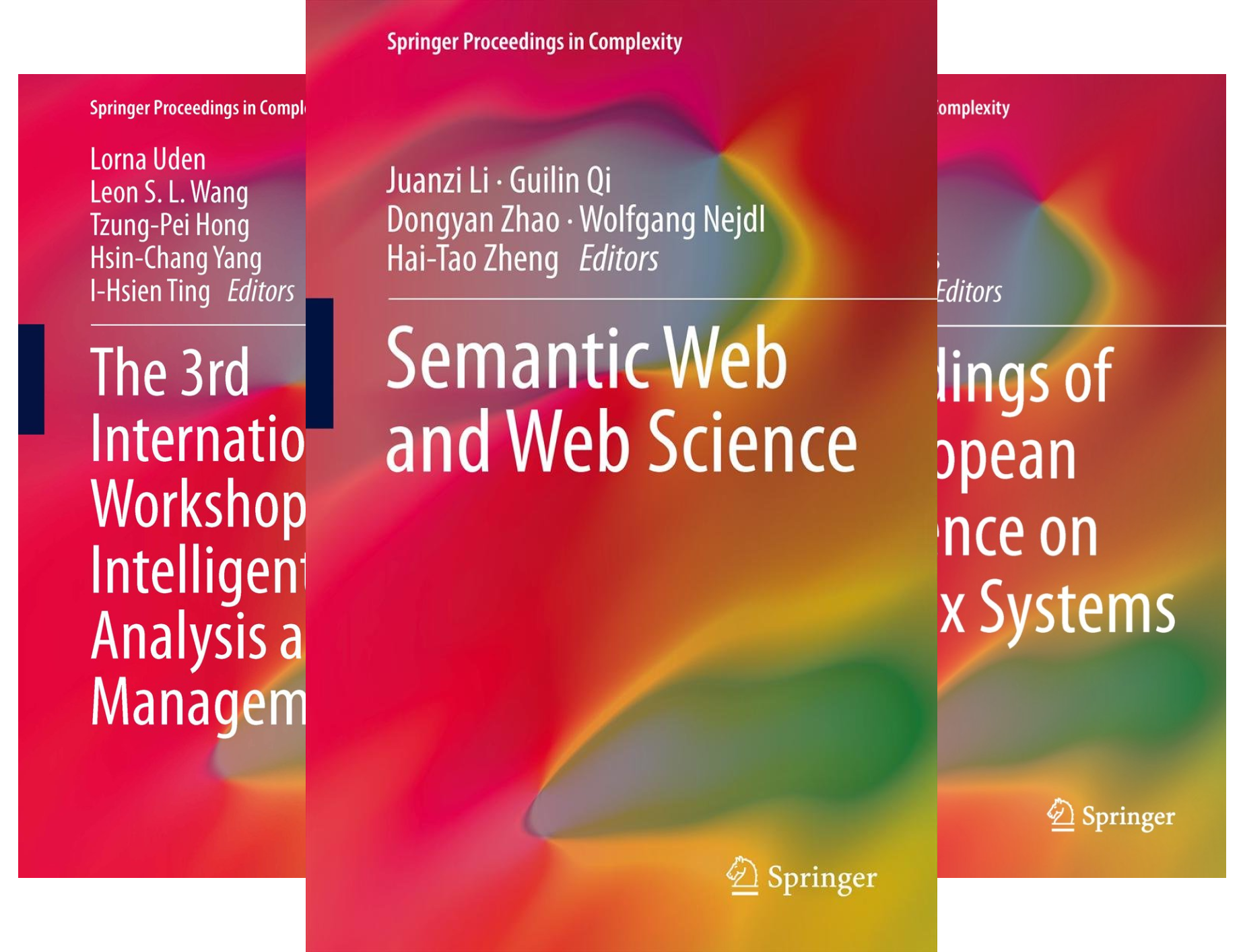Springer Proceedings in Complexity (45 Book Series)