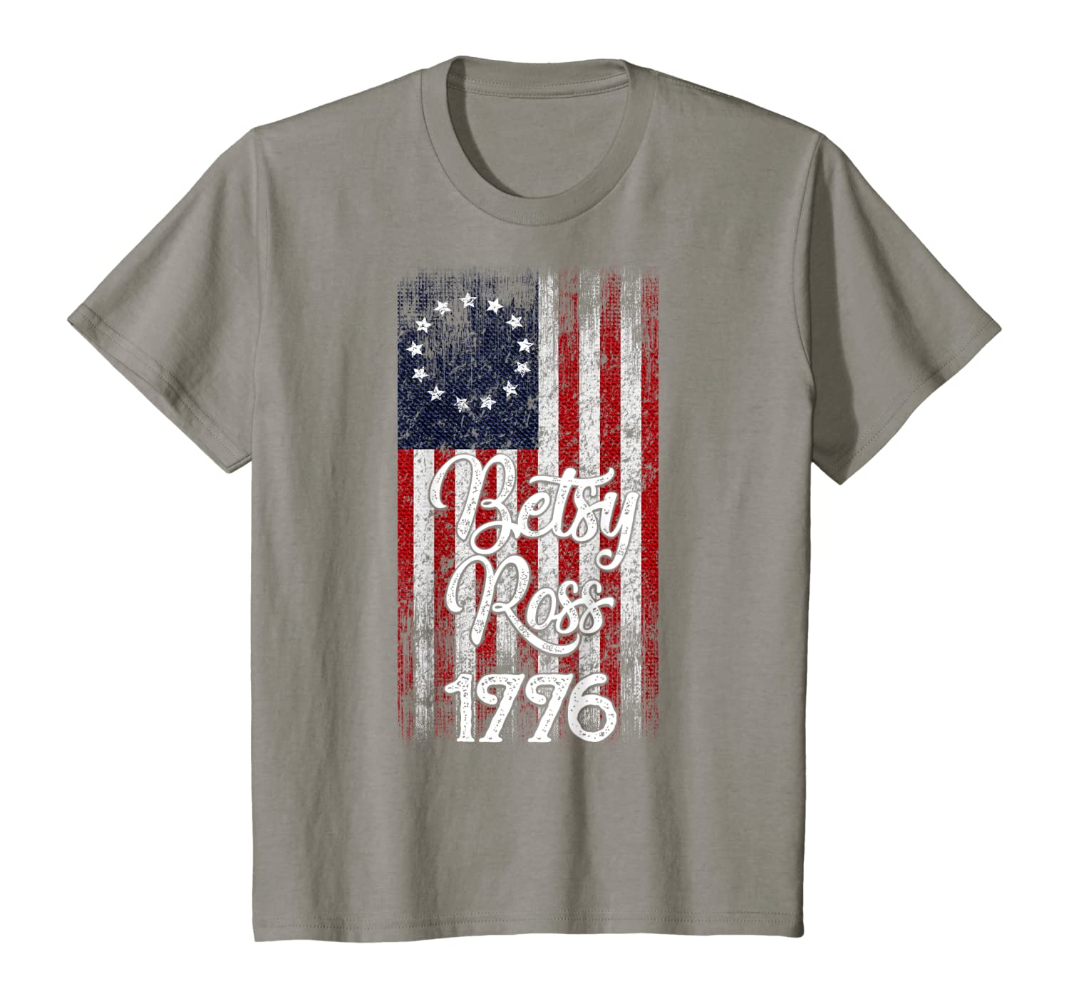 13 Colonies Betsy Ross First us Flag USA American Vintage T-Shirt