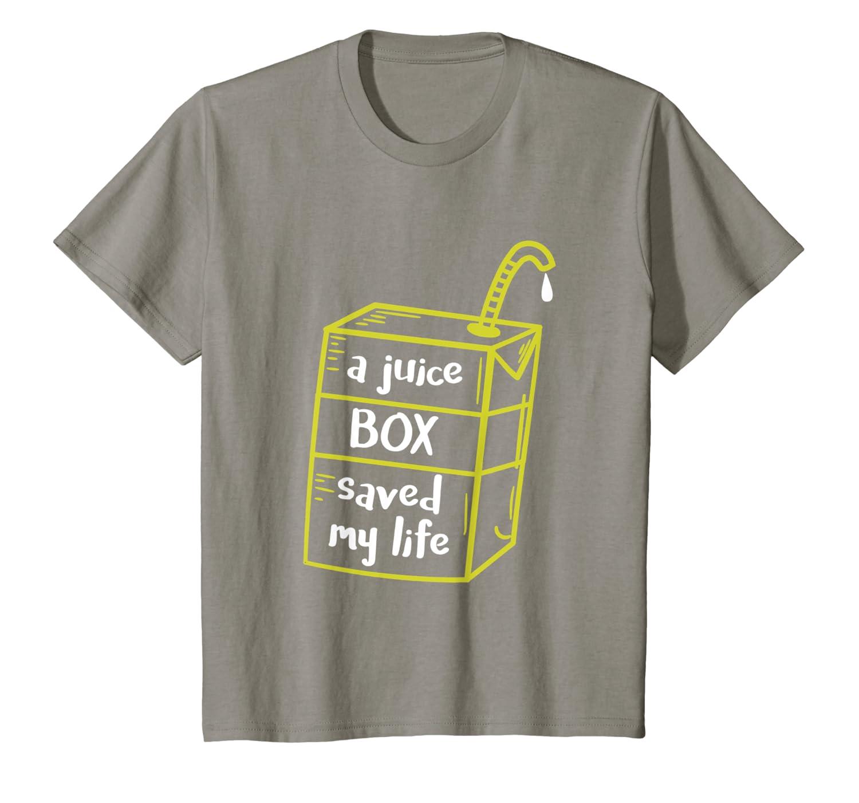 A Juice Box Saved My Life Diabetes T-Shirt