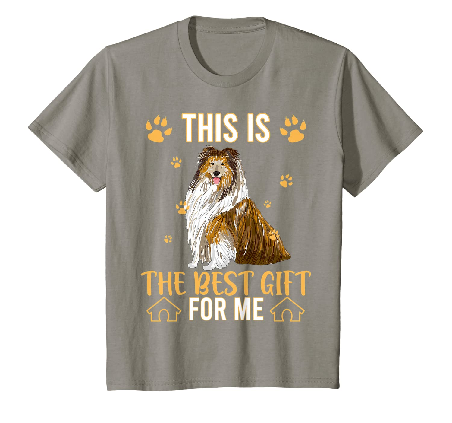 This Is The Best Gift For Collie Dog Lovers T-Shirt