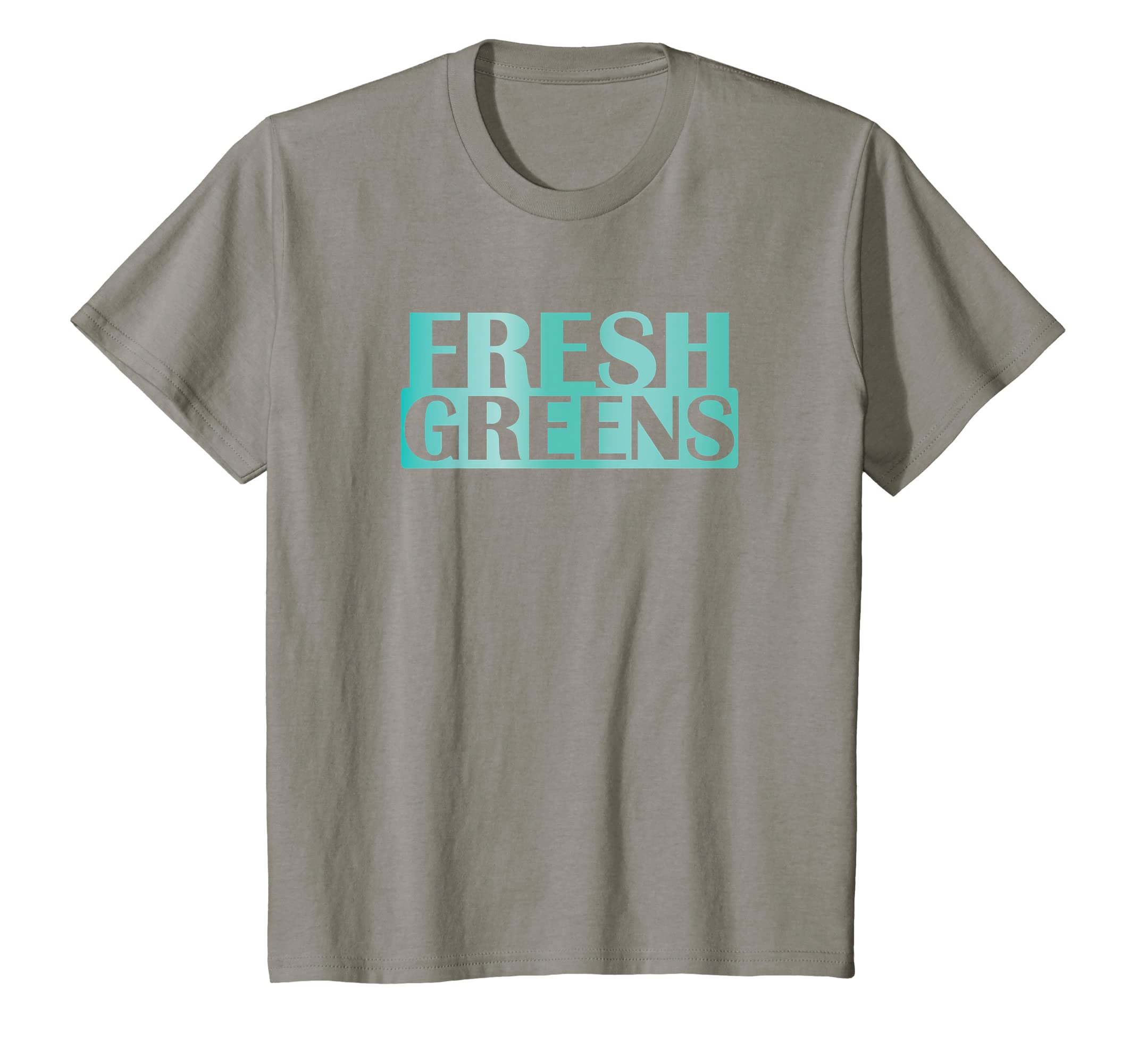 fc7084b57bcb6 Amazon.com  Fresh Greens Island Green Sneaker T-Shirt Foamposites  Clothing