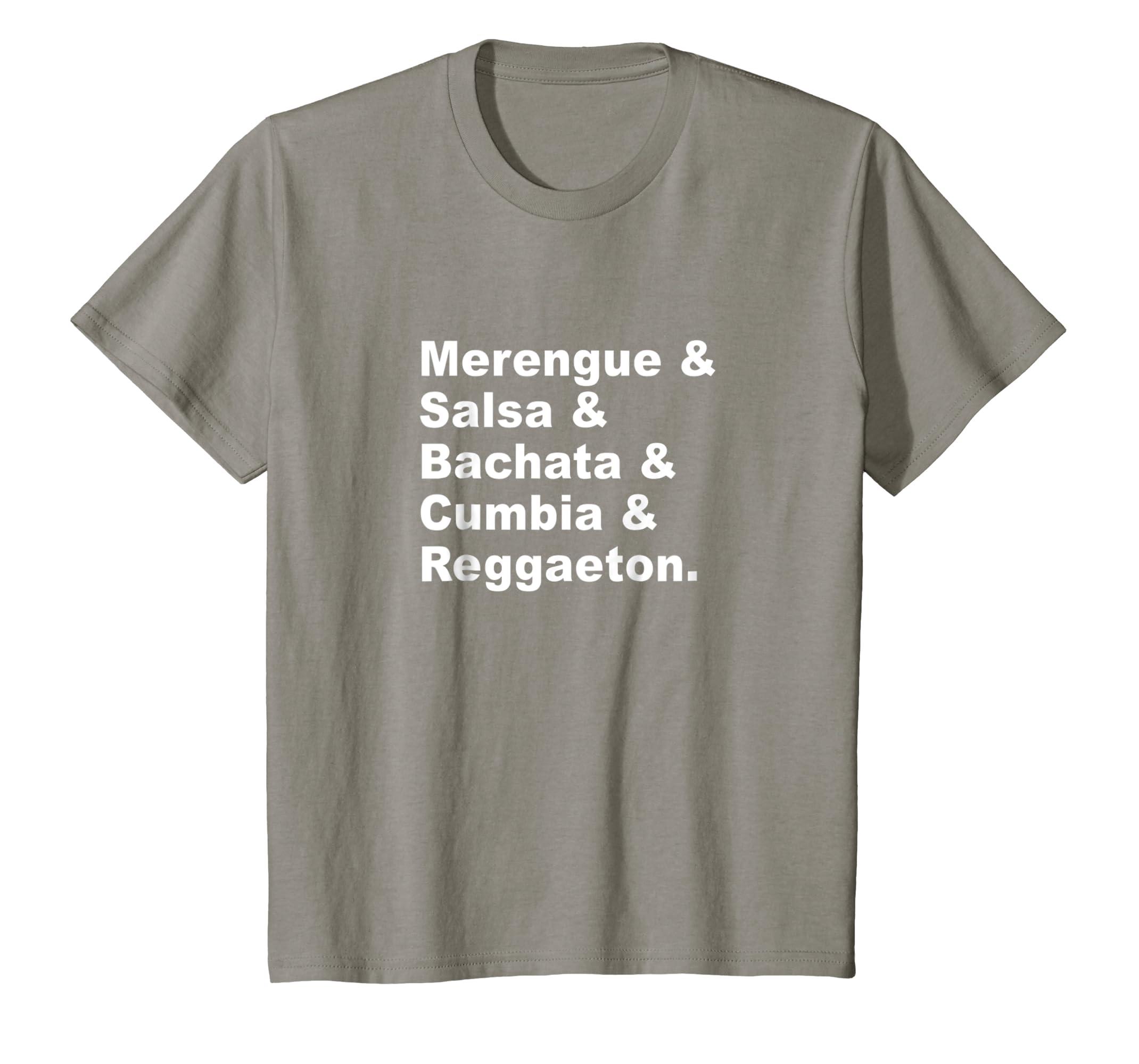 Amazon.com: Merengue Salsa Bachata Cumbia Reggaeton Latin Music Shirt: Clothing