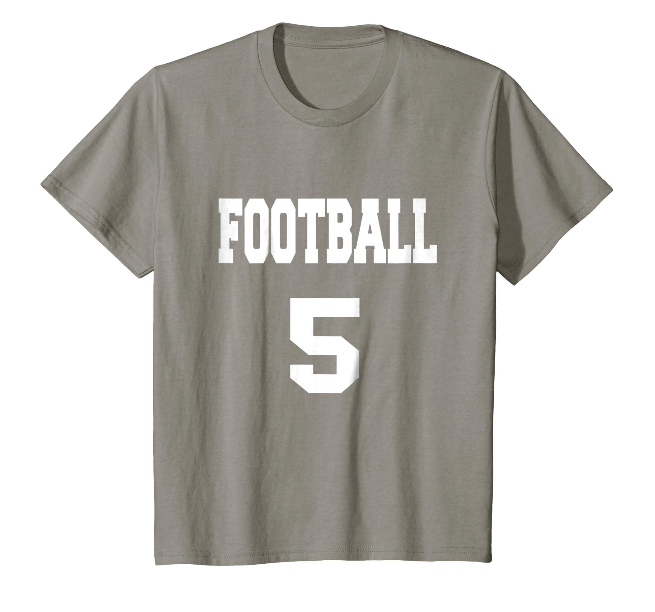 Amazon Football 5 Birthday Party T Shirt Jersey Clothing