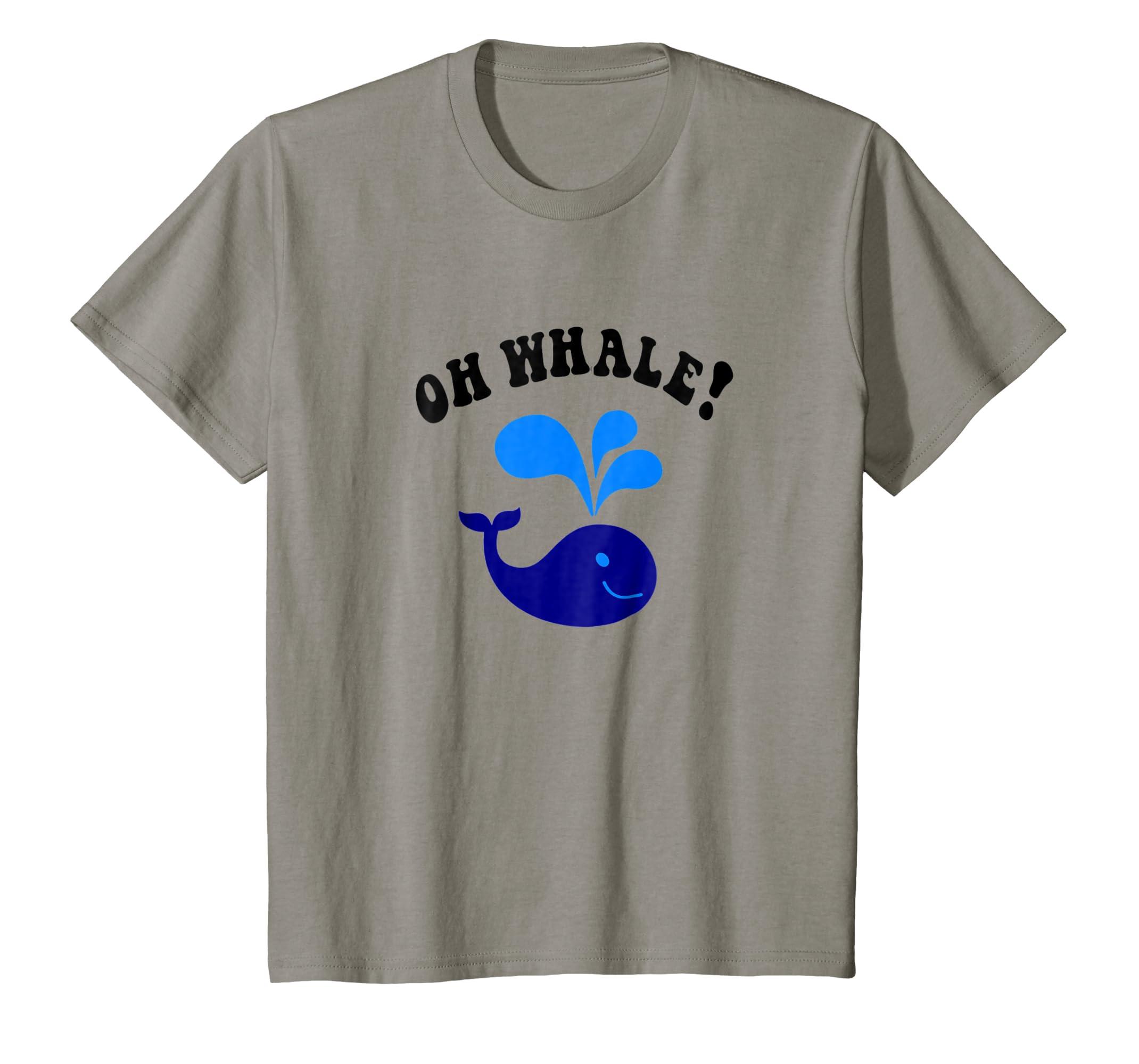 571377b7b Amazon.com  Oh Whale! T Shirt  Clothing