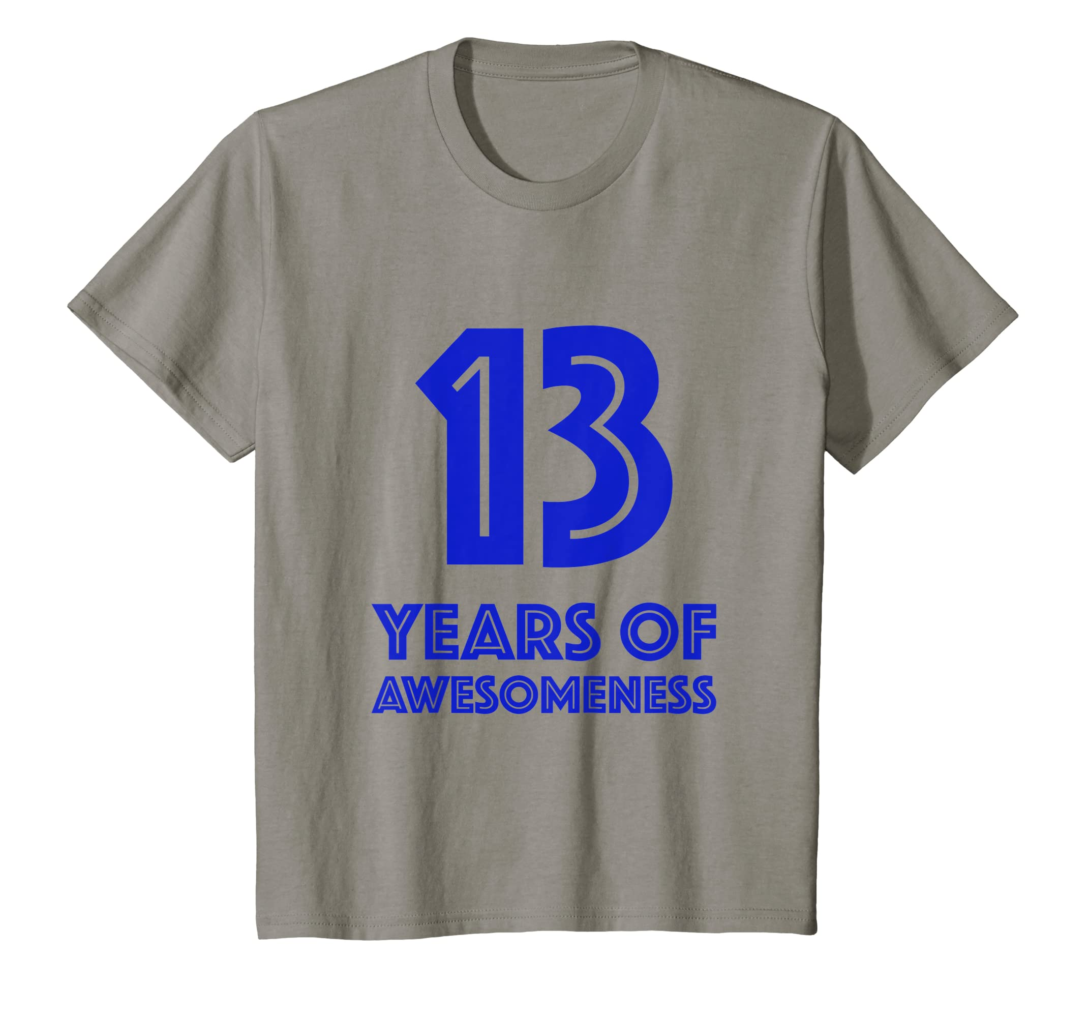Amazon 13th Birthday Shirt Gift Boys Age 13 Thirteen Year Old Boy T Clothing