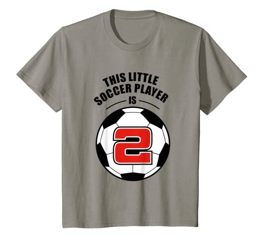 Amazon Kids 2nd Birthday Boys Soccer T Shirt Football 2 Year