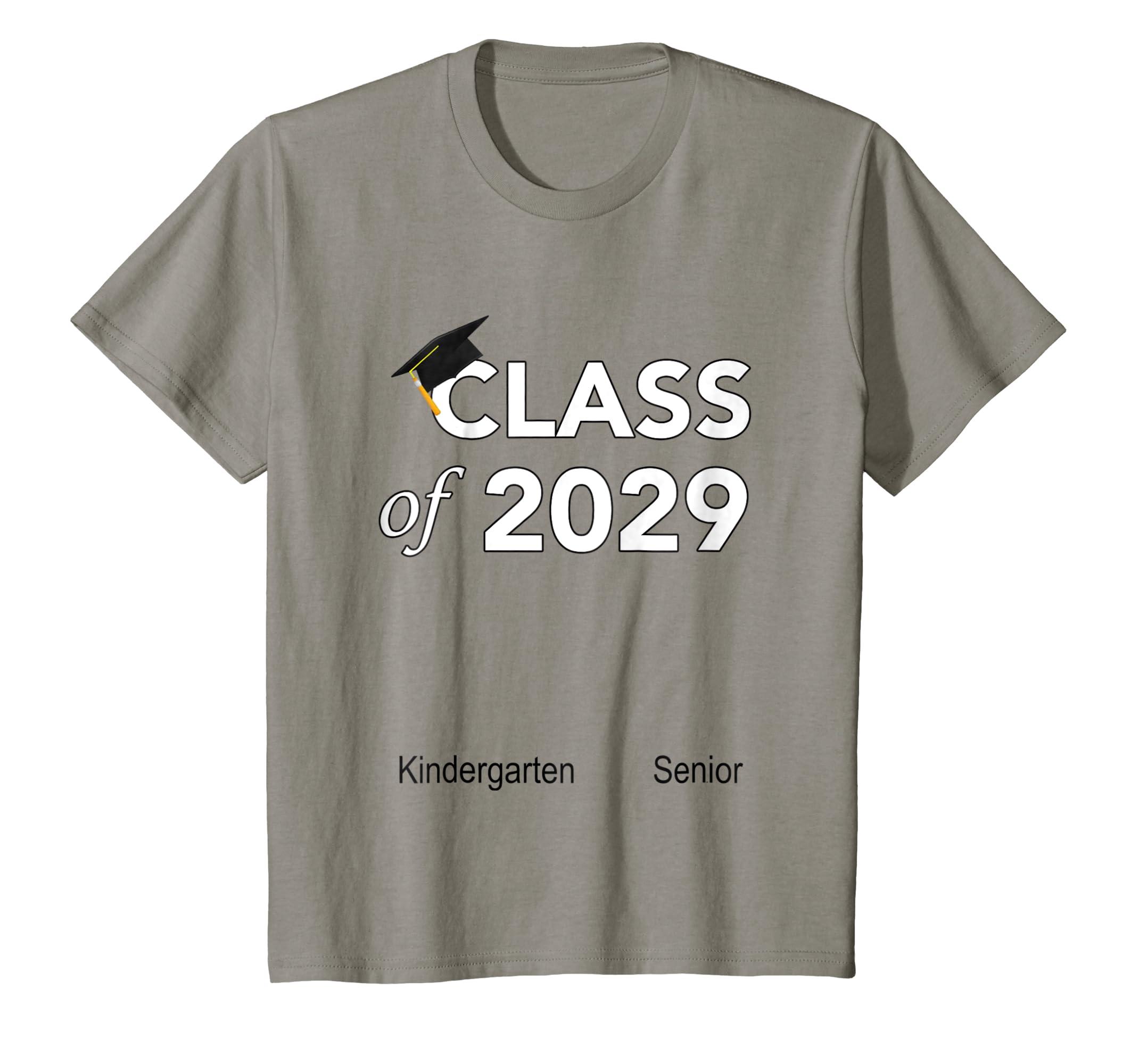 Amazon Class Of 2029 Graduation Handprint T Shirt Shirt Hand