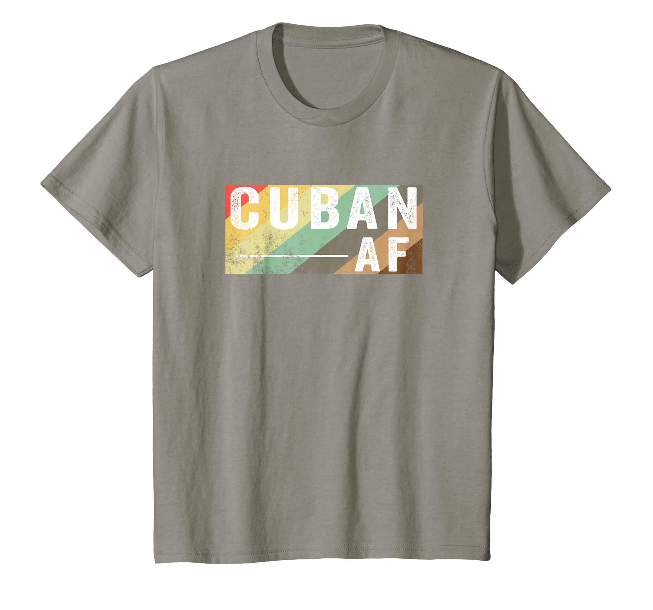 Amazon.com: Vintage Retro Cuban AF T shirt Funny Old School 70s & 80s: Clothing