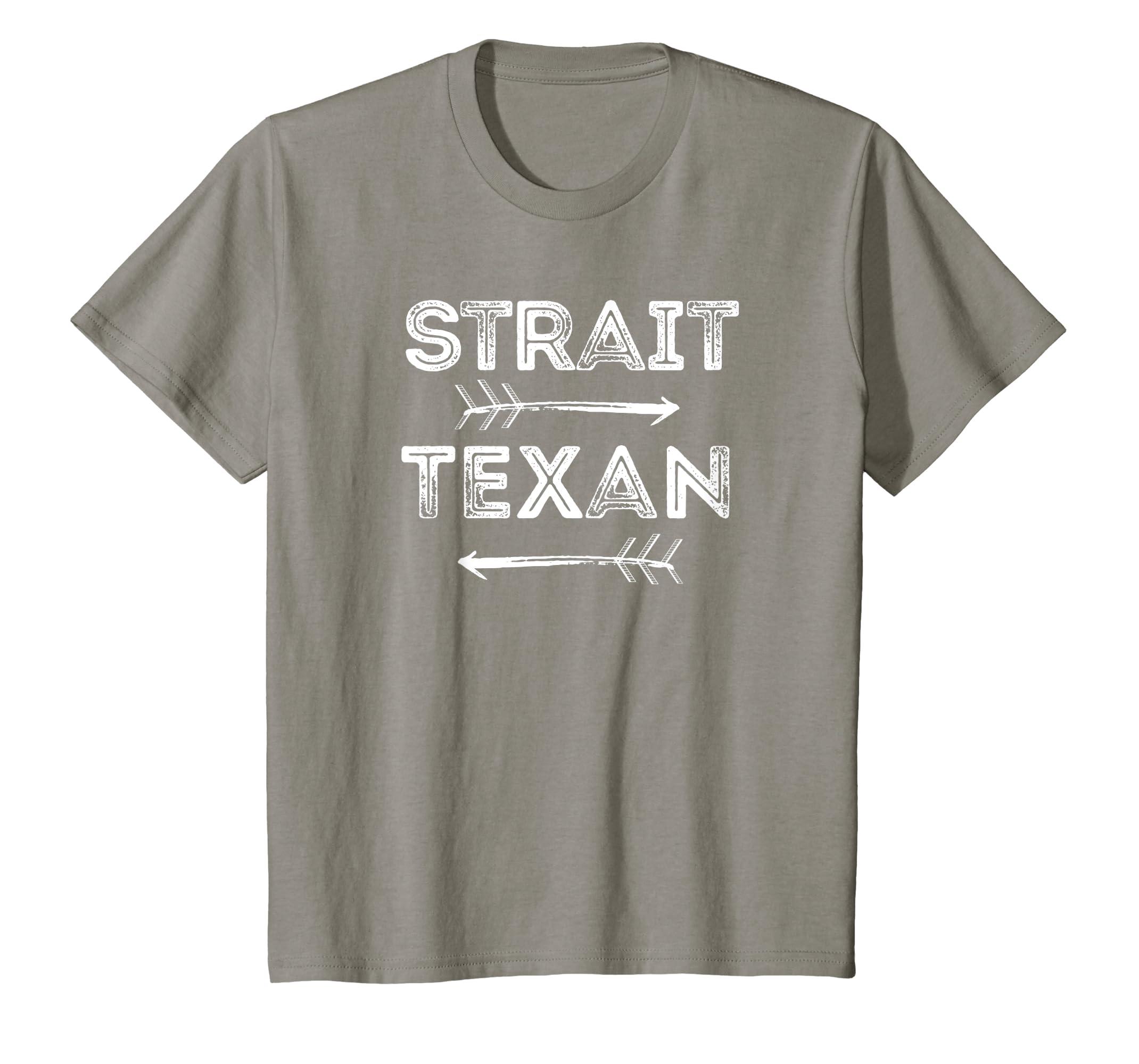 Amazon.com  Strait Texan T-Shirt Texas Pride Saying With Arrows  Clothing 545058678