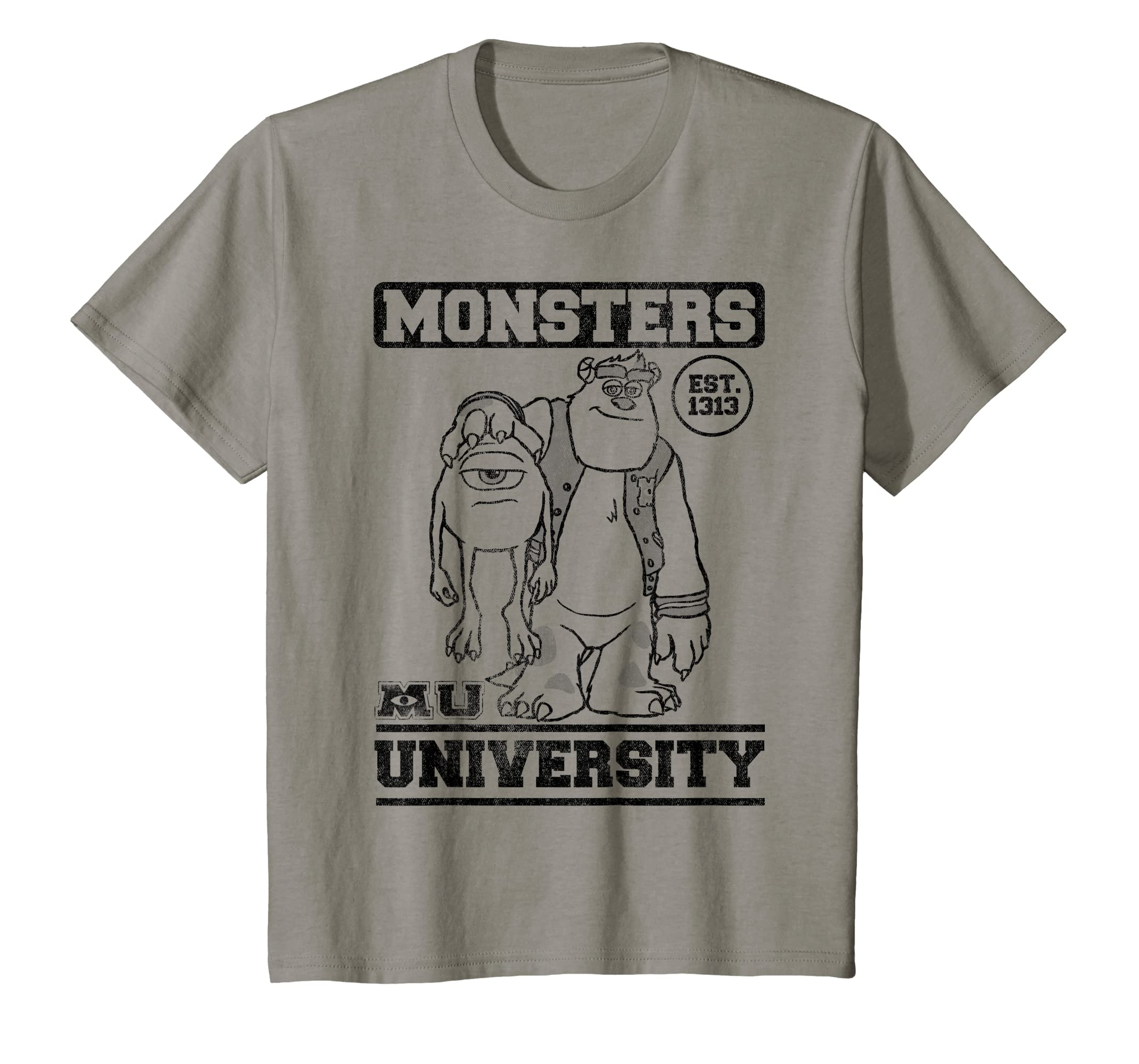 20996d074 Amazon.com: Disney Pixar Monsters University Sulley Holding Mike T-Shirt:  Clothing