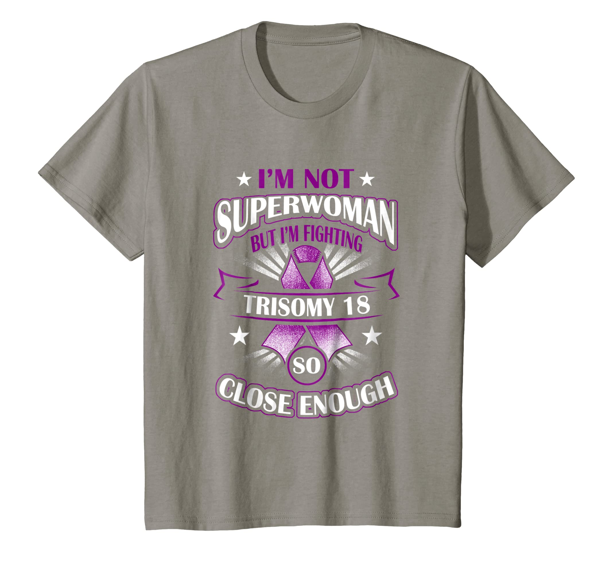 53fde53fa Amazon.com: Trisomy 18 Awareness T Shirt For Women: Clothing