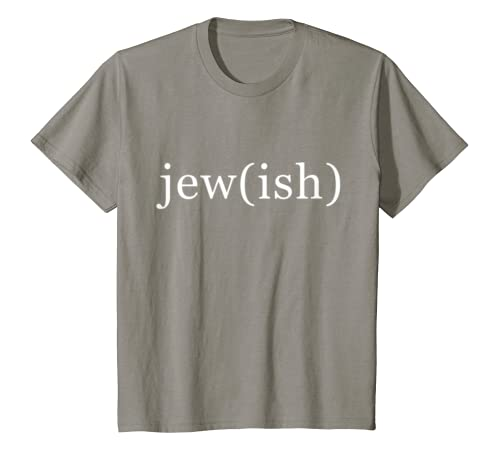 944e4477 Amazon.com: jew(ish) jew-ish jewish tee t-shirt Funny Jewish Tees: Clothing