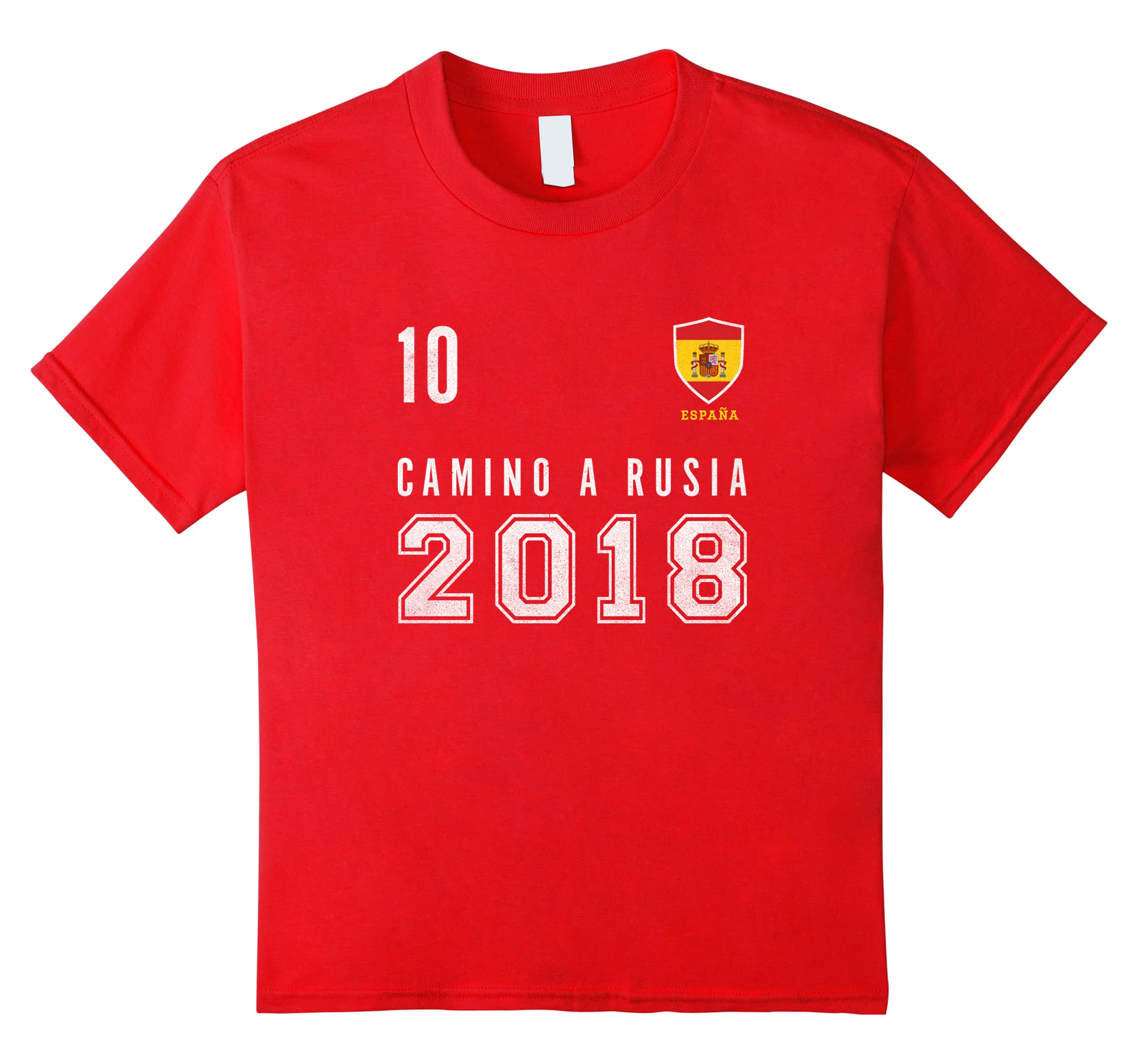 Amazon.com: Spain, Soccer, Rusia 2018 tshirt - Camiseta Futbol Tee: Clothing