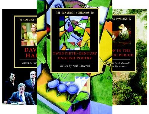 Cambridge Companions to Literature (151-200) (50 Book Series)