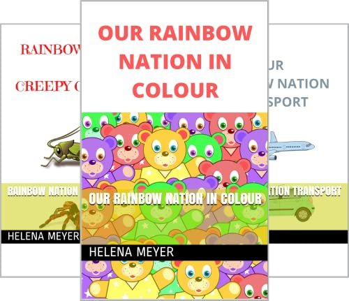 Our Rainbow Nation in Colour (3 Book Series)