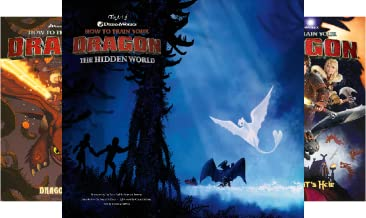 DreamWorks' How to Train Your Dragon (3 Book Series)