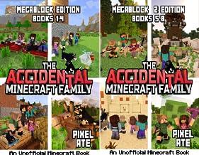 The Accidental Minecraft Family Megablock (2 Book Series)