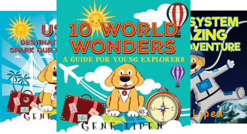 Kids Books for Young Explorers (4 Book Series)