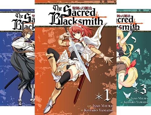The Sacred Blacksmith (10 Book Series)