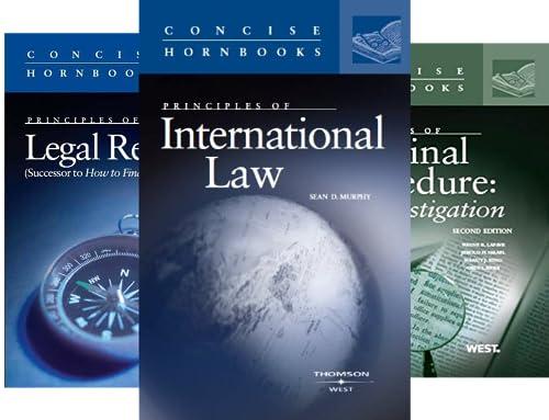 Concise Hornbook Series (40 Book Series)