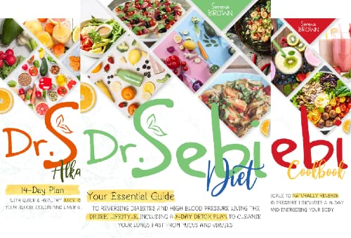 Dr Sebi - Alkaline Diet and Cure for Disease (7 Book Series)
