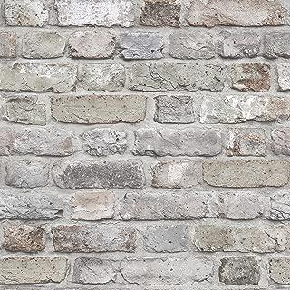FC2501 - Facade Grey Brick Wall Galerie Wallpaper