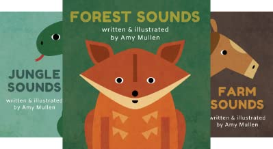 Animal Sounds (3 Book Series)