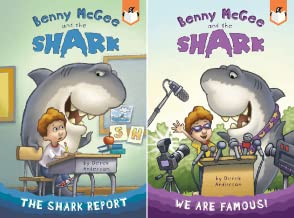 Benny McGee and the Shark (2 Book Series)