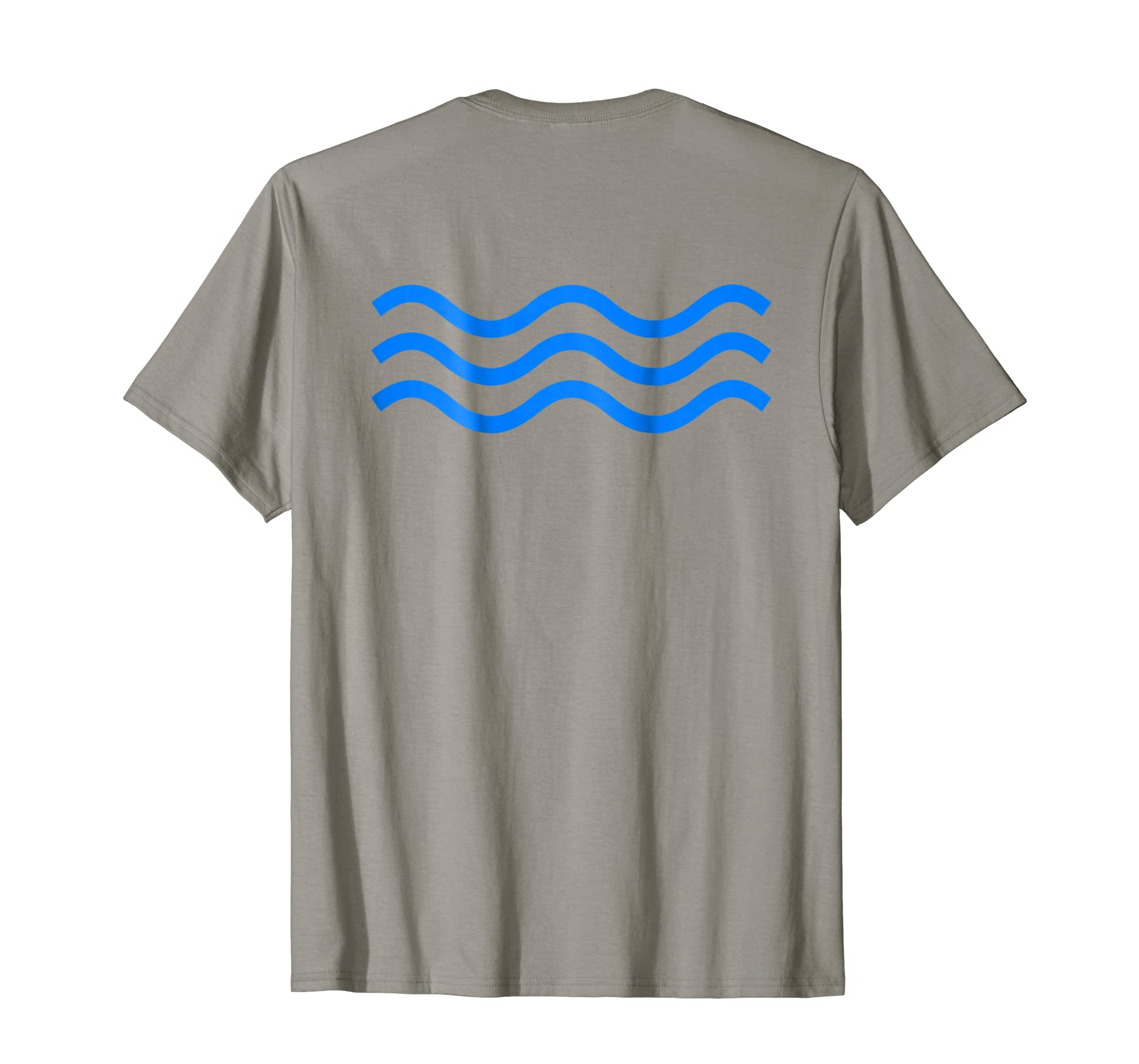 Amazon Blue Wave Vote T Shirt Back Of Shirt Design Clothing