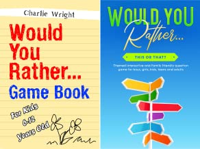 Would You Rather Game Book (2 Book Series)